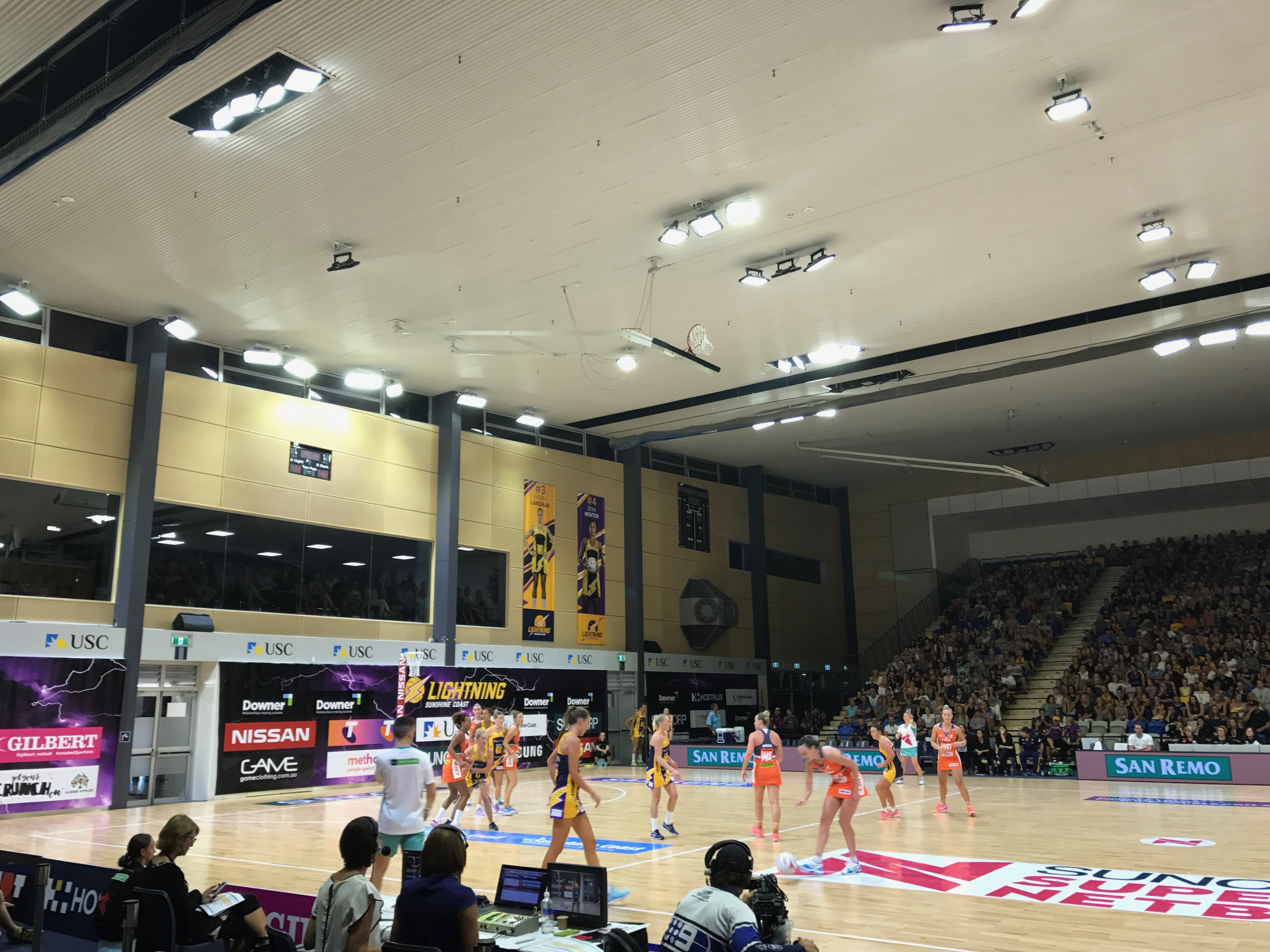 USC Netball Lighting