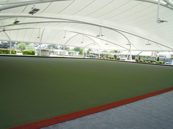 morwell bowls club with andromeda led park luminaires. Black Bedroom Furniture Sets. Home Design Ideas