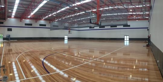 Maroochydore Basketball Stadium Lighting