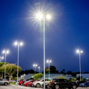 Andromeda C PoleM lights at Logan Hospital Carpark