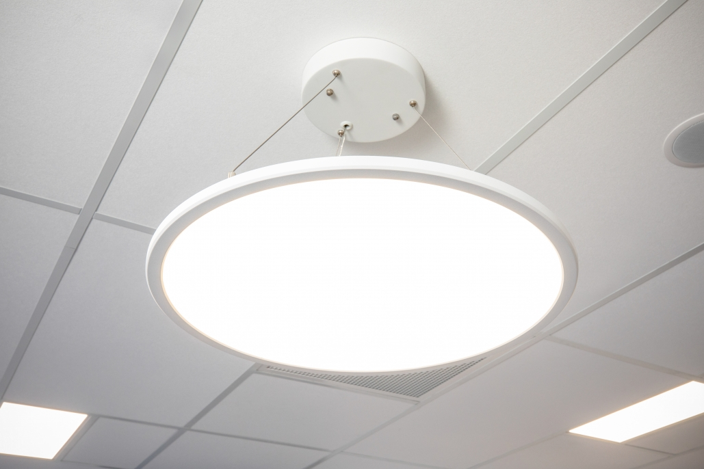 LED Lights installed at the Health Facility